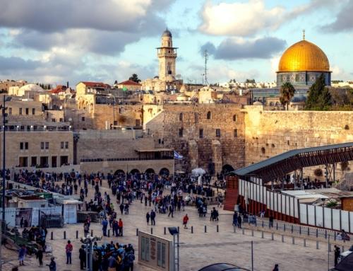 Jérusalem, Israël, le conflit au proche orient