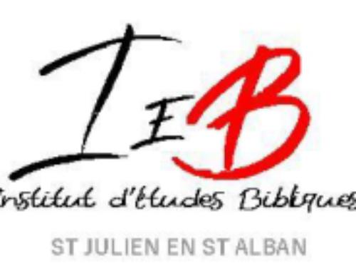 Le programme 2020/2021 à l'IEB de St Julien (F-07)