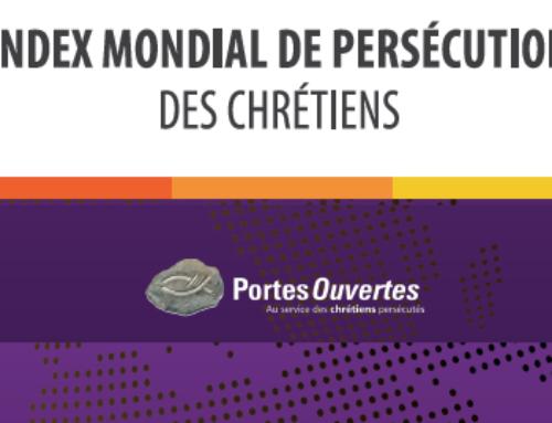 Index mondial de persécution de Portes Ouvertes paru le 13 janvier 2021