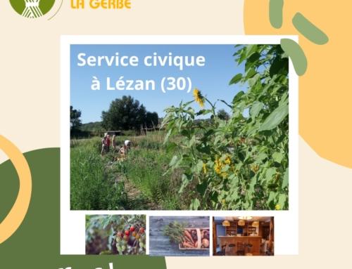 Trois postes de service civique à Lézan